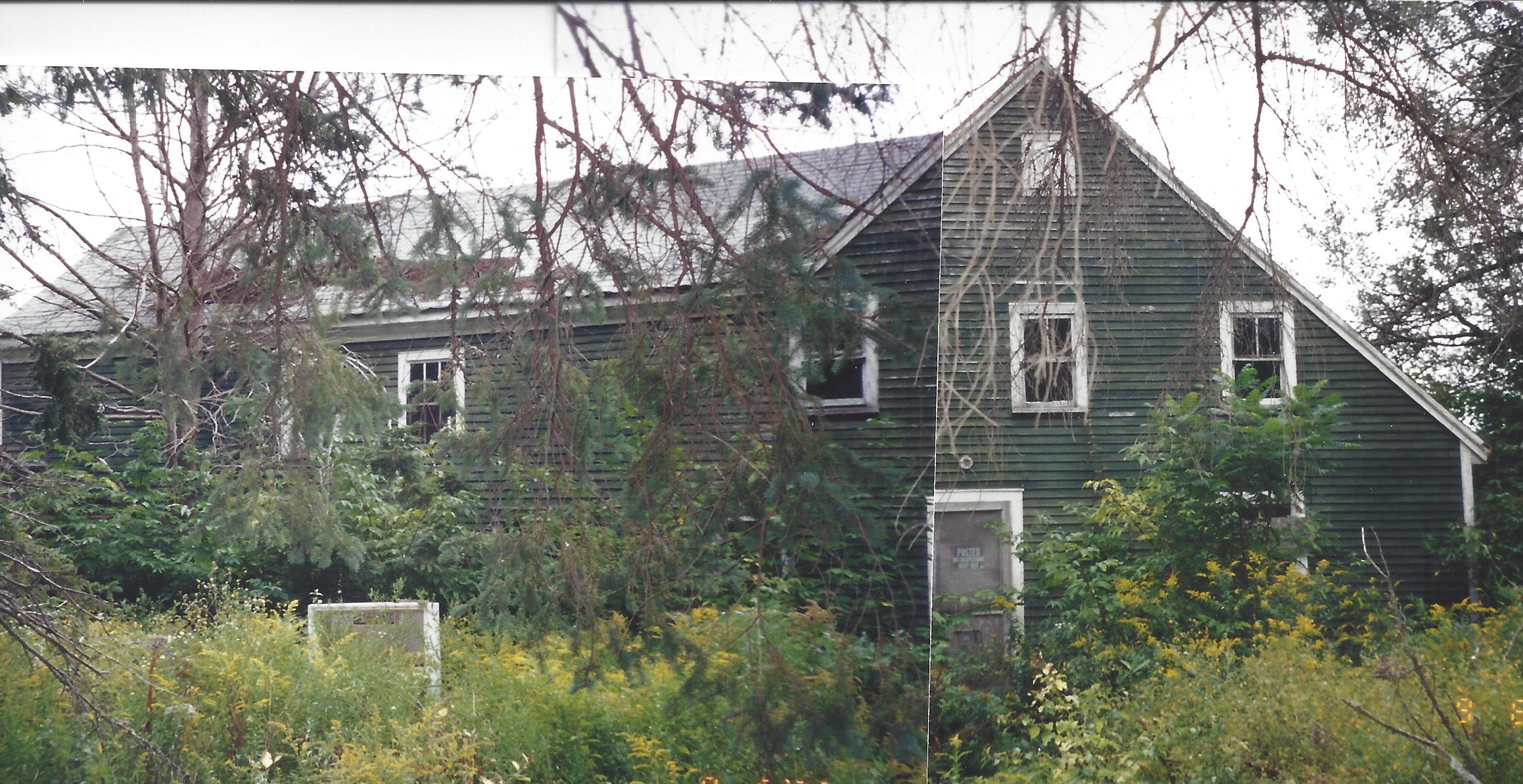 Prior to renovations 2003