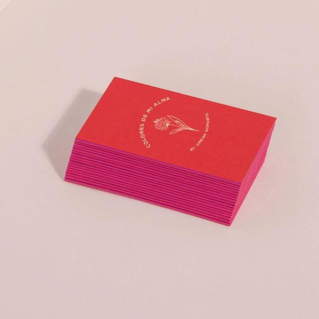 Brand Identity @colores_de_mi_alma  #graphicdesign #identity #packaging