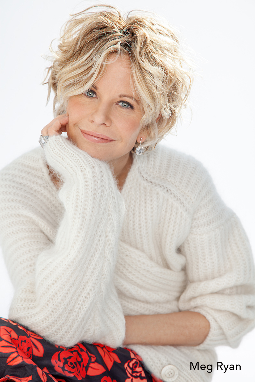Meg Ryan Headshot By Udo Spreitzenbarth