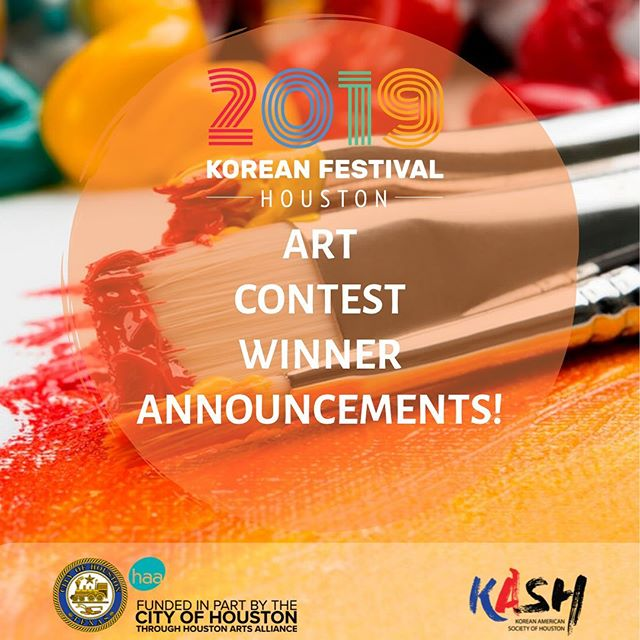 🖼 ART CONTEST WINNER ANNOUNCEMENT🎨  Congratulations to our art contest winners - Seah Chae, Hyukjun Yang, and Alan Moon!!! We had SO MANY amazing entries! All participants, please keep an eye on your email inbox. We have also chosen honorable mentions which will be put on display at KFest with the top 3 winners! 💕