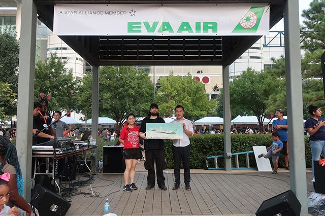 Congratulations to Bryan Michael for winning the raffle for two free tickets to South Korea! Provided by our official KFest airline partner @evaairways