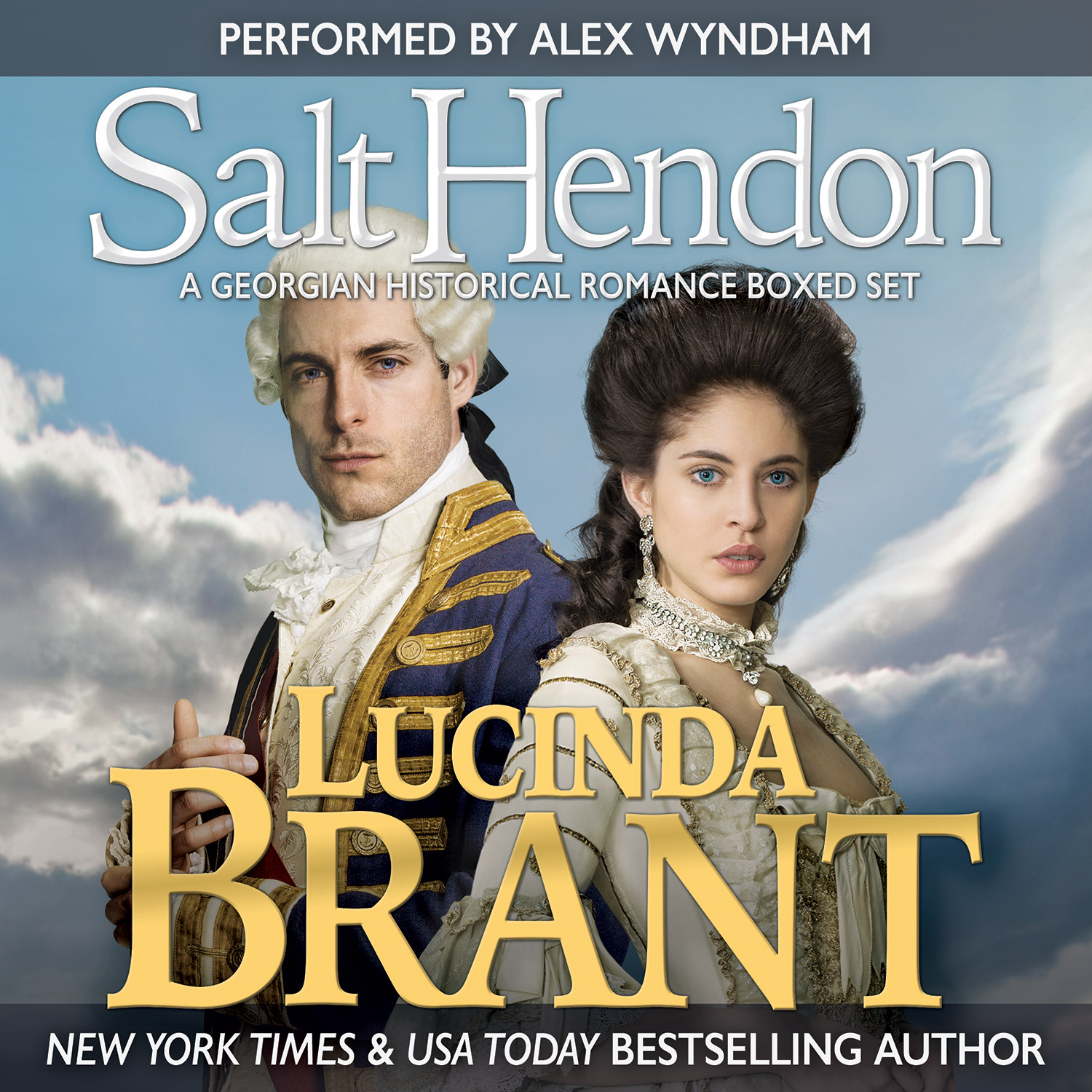Salt Hendon Collection by Lucinda Brant—audiobook narrated by Alex Wyndham