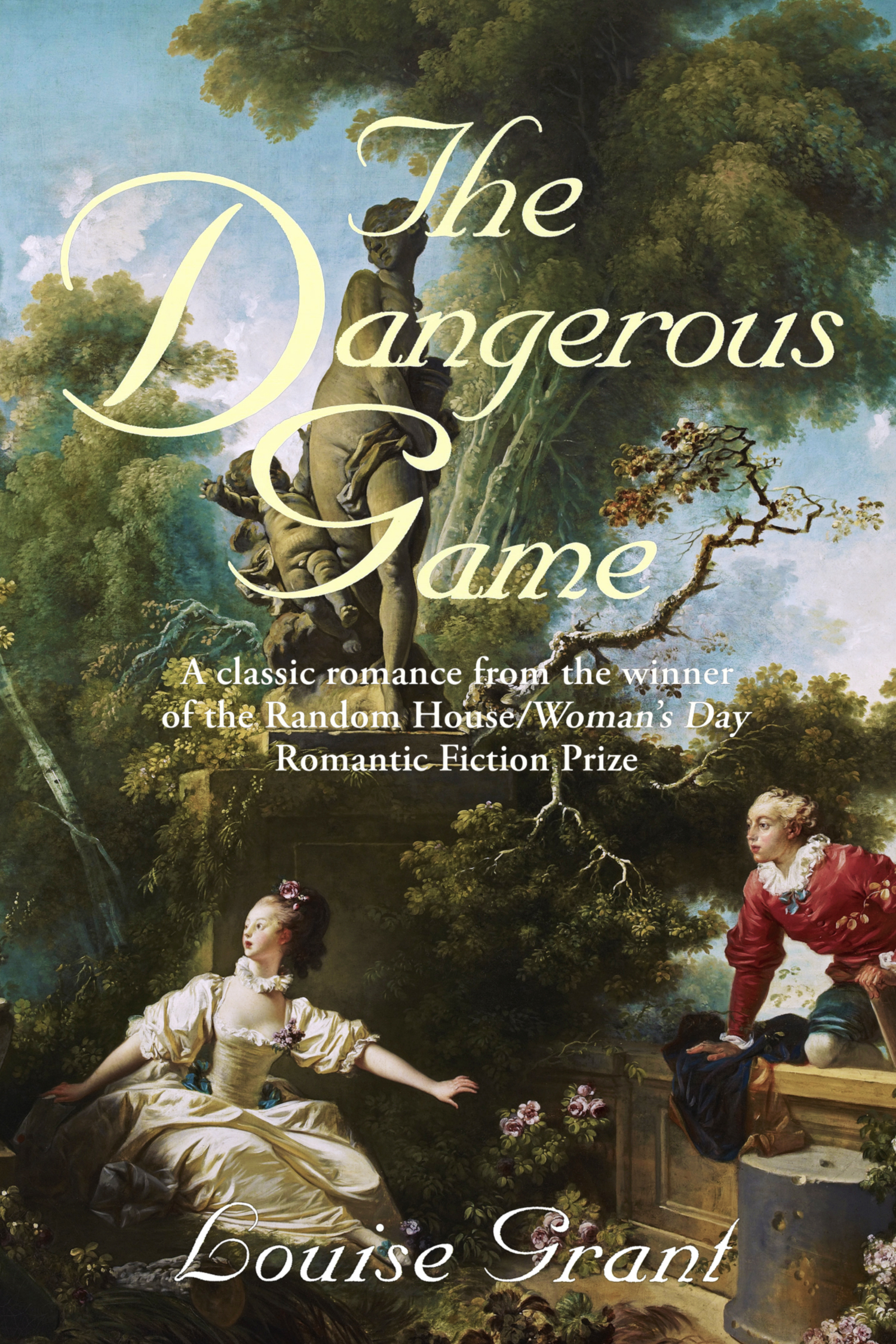 The Dangerous Game by Louise Grant aka Lucinda Brant—book cover
