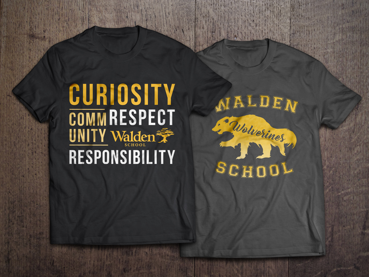 ROCK YOUR WALDEN SPIRIT IN STYLE - Show your Walden pride by boasting some awesome school spirit apparel! Walden Wear is an online store for Wolverine fans to easily purchase merchandise for children and adults, including t-shirts, hoodies, long sleeves, tanks, mugs, bags and more. A portion of the proceeds will benefit the Walden Booster Club and the Marketing team.