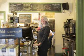 Madeleine, Birds and Beans Cafe, Etobicoke