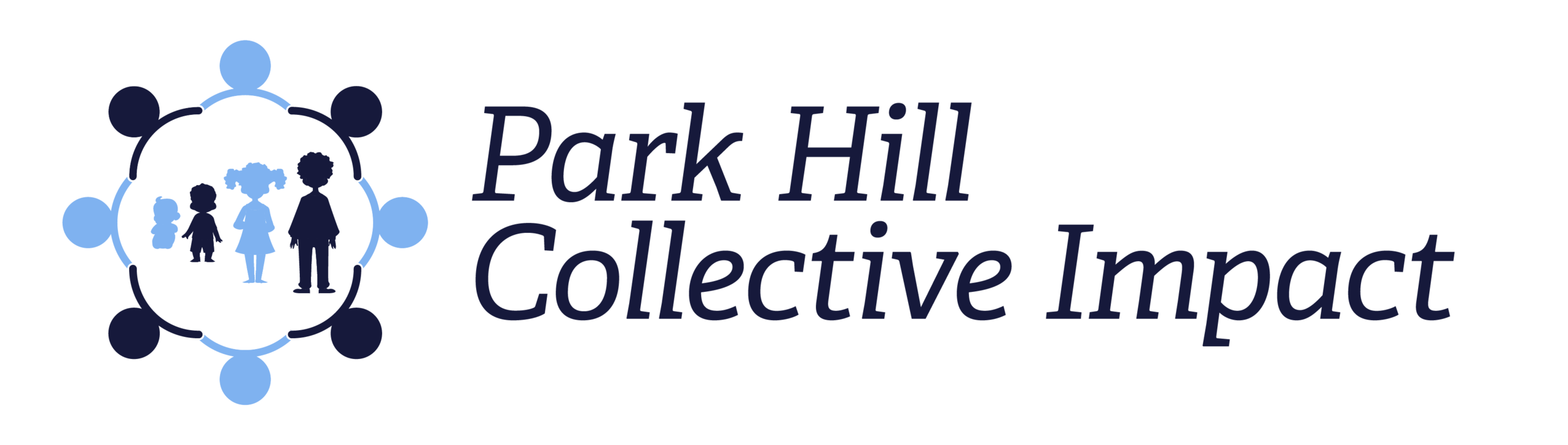 Official Logo Park Hill Collective Impact_navy letter.png