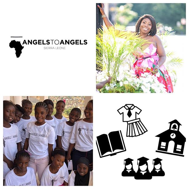 Organizational news 🗞! September 📆 is a very busy time for Angels to Angels Sierra Leone! As the school year kicks off in SL 🇸🇱 and we continue to gain sponsorship for our 2019-2020 school year campaign (thank you to all who have already donated!💓) -- Fatu will be also be traveling back to SL this month✈️. She will visit many of our sites, checking in with our girls👩‍🎓(past and present) and assess our program's status in the new government's climate of 'free public education'. Check back here for more updates and happenings on the ground‼️ It's not too late to donate! Donations can be made via www.angelstoangelssl.com/donate!  #educateourgirls #girlseducation #empowerment #knowledgeispower #sierraleone #thefutureisfemale #girlseducationSierraLeone #educationsponsorship  Clipart credit: The Noun Project