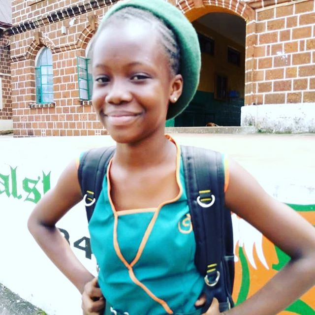 Meet Tigidankay K.! This bright ⭐️ young woman had the highest score on her school's high school entrance exams 📚AND ranked #2 in all of Sierra Leone🇸🇱! Proud is an understatement. Keep👏up👏the👏great👏work!  #educateourgirls #girlseducation #empowerment #knowledgeispower #sierraleone #thefutureisfemale #girlseducationSierraLeone #educationsponsorship