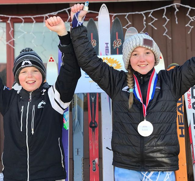 It's been a busy weekend with US Ski races happening at Chestnut, high school training in La Crosse and the final WJR race of the season. Congratulations all athletes and thank you coaches #madalpine #skiracing