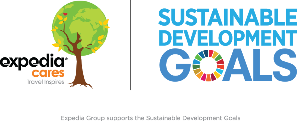 Expedia, Inc. supports the Sustainable Development Goals