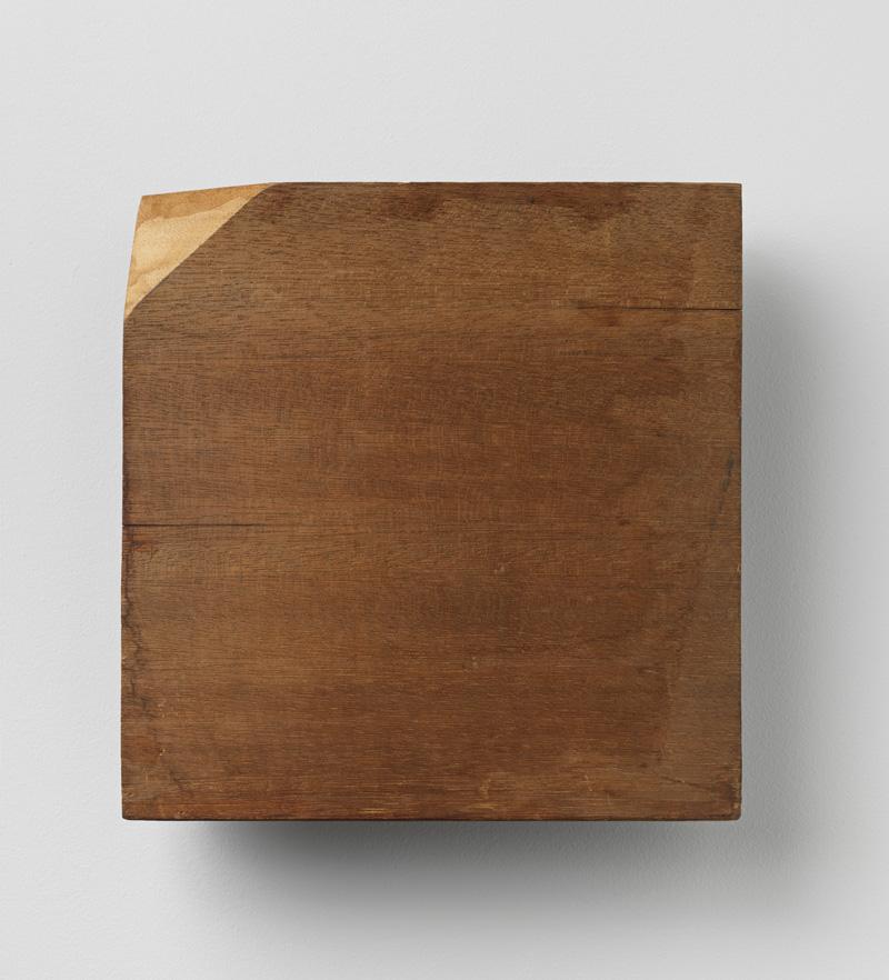 Spatial Extremity , 1981 端界 ( Tankai ) Wood 10 1/16 x 9 7/8 x 2 5/8 inches 25.5 x 25 x 6.6 centimeters