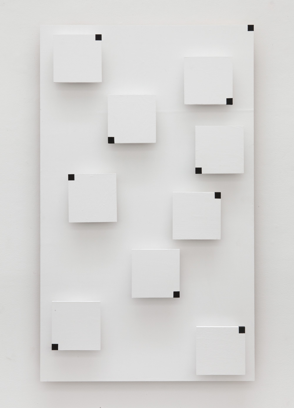 Placement of Unitary Situations , 2015 個景置 ( Kokeichi ) Wood, paint 58 7/8 x 35 3/8 x 3 3/4 inches 149.5 x 89.9 x 9.5 centimeters