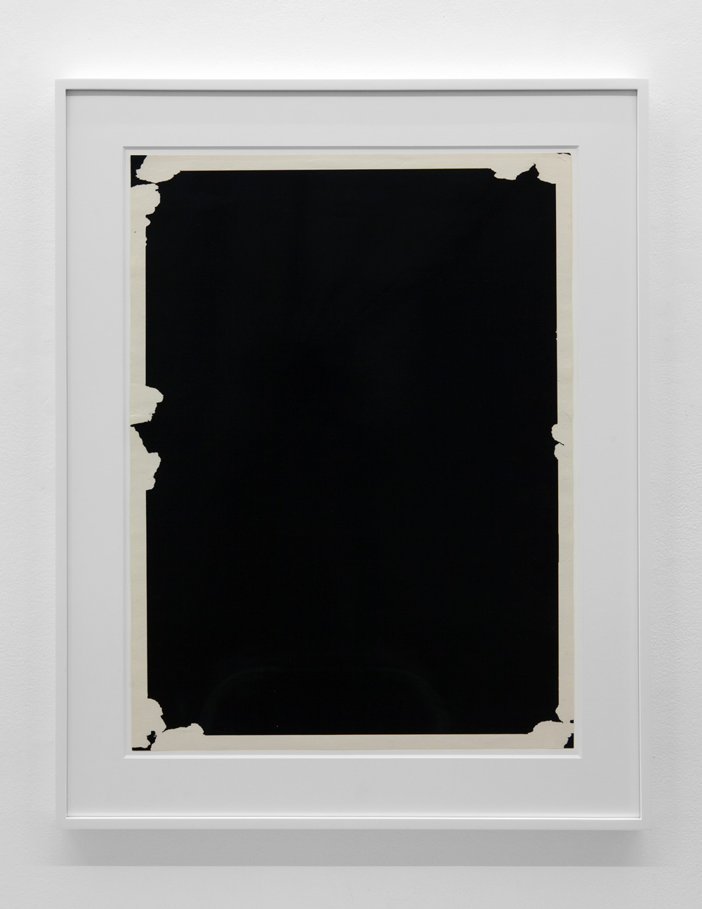 Dependent Space 175 , 1975 Paper 28 x 20 3/4 inches 71.1 x 52.7 centimeters