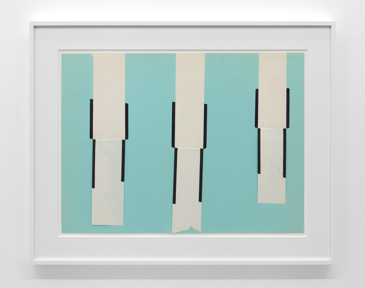 Dependent Space 275 , 1975 Magic marker on paper 20 3/4 x 28 inches 52.7 x 71.1 centimeters
