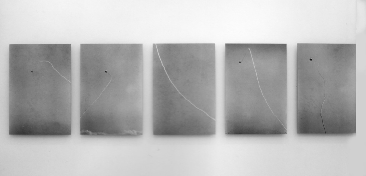 Space–Order , 1974 界律 ( Kairitsu ) Silver gelatin print Five parts; 20 7/8 x 14 1/8 inches each (53 x 36 cm) Installed dimensions variable