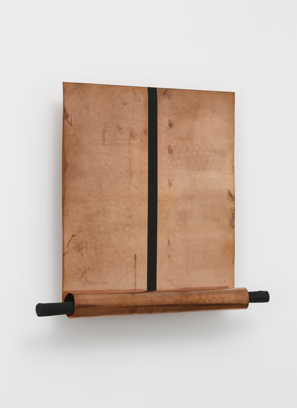 Body of Scenery , 2004 体景 ( taikei ) Copper, paint, wood 13 1/4 x 15 3/8 x 3 1/8 inches  33.7 x 39.1 x 7.9 centimeters