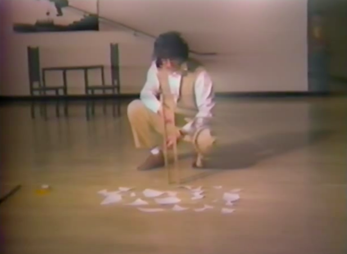 Event at Yokohama Civic Art Gallery, 1979