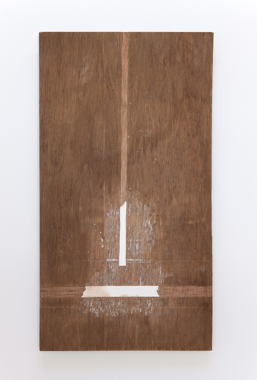 Supplemented Material—104 , 1984 補われた素材—104 ( Oginawareta Sozai—10 4) Wood, putty 25 3/16 x 13 5/8 x 1 inches  64 x 34.5 x 2.5 cm