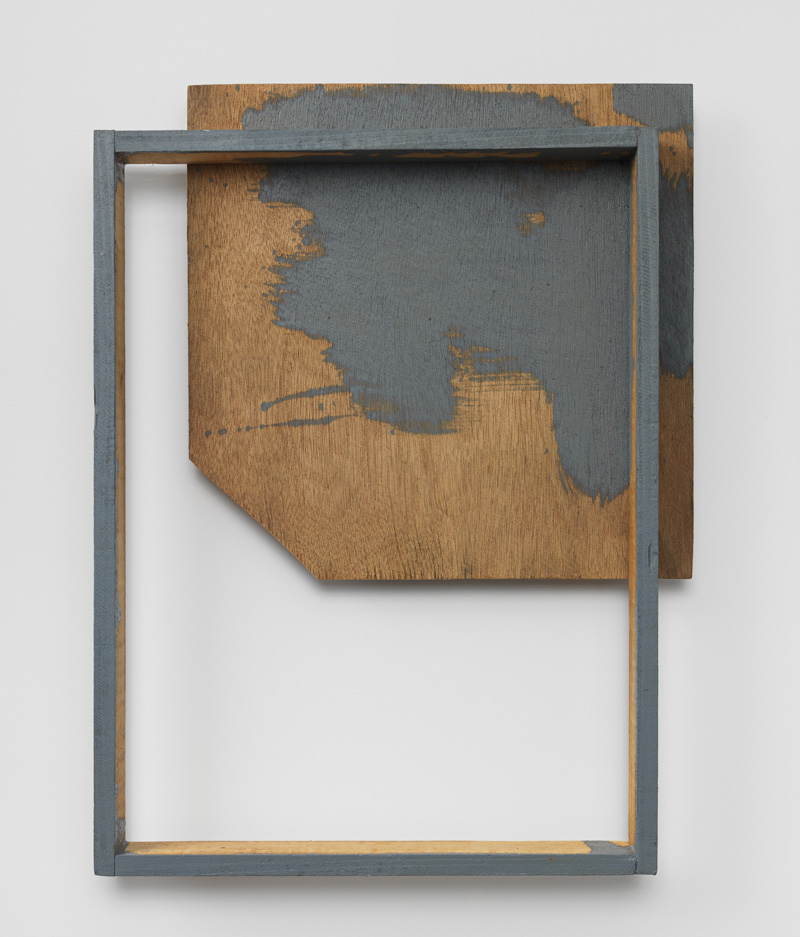 Spatial Components of Body , 1989 間素体 ( Sansotai ) Wood, plywood, water-based paint 21 1/4 x 16 1/8 x 3 3/8 inches 54 x 41 x 8.5 cm