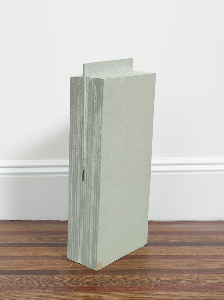Independent Space , 1981 自空 ( Jikū ) Asbestos 19 1/8 x 7 3/4 x 3 15/16 inches 48.5 x 19.7 x 10 cm