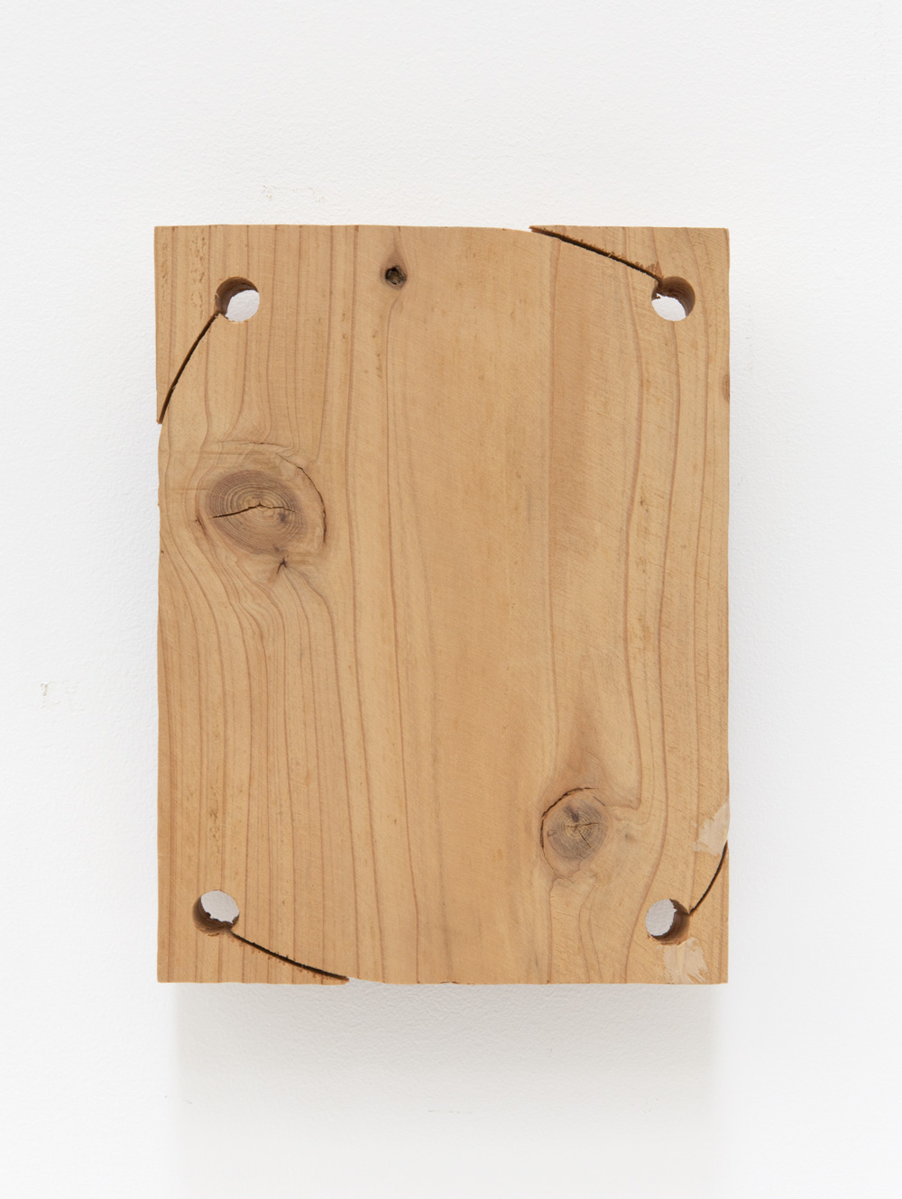 Components in Between , 2004 間素 ( Kanso ) Wood 9 1/4 x 7 x 2 1/8 inches 23.5 x 18 x 5.5 cm