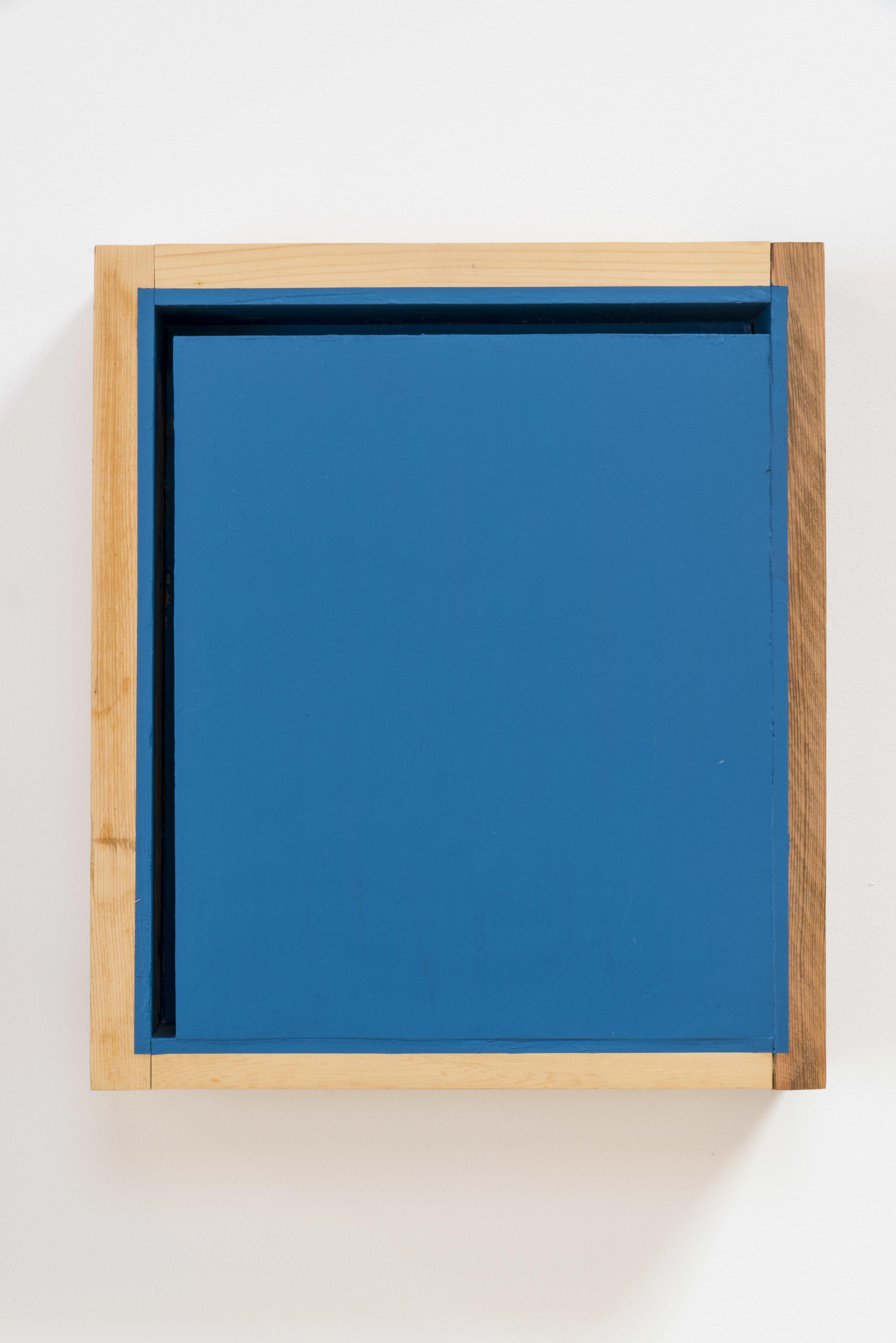 Space in Edges , 2006 短空端 ( Tankūtan ) Wood, acrylic 16 1/8 x 13 3/4 x 4 1/8 inches 41 x 35 x 10.5 cm