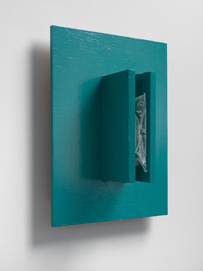 Inserted Air - Other Space , 2007 はさまれた空気 – 他間 ( Hasamareta Kūki – Takan ) Wood, acrylic, air 19 5/8 x 14 3/8 x 7 inches 50 x 36.5 x 18 cm