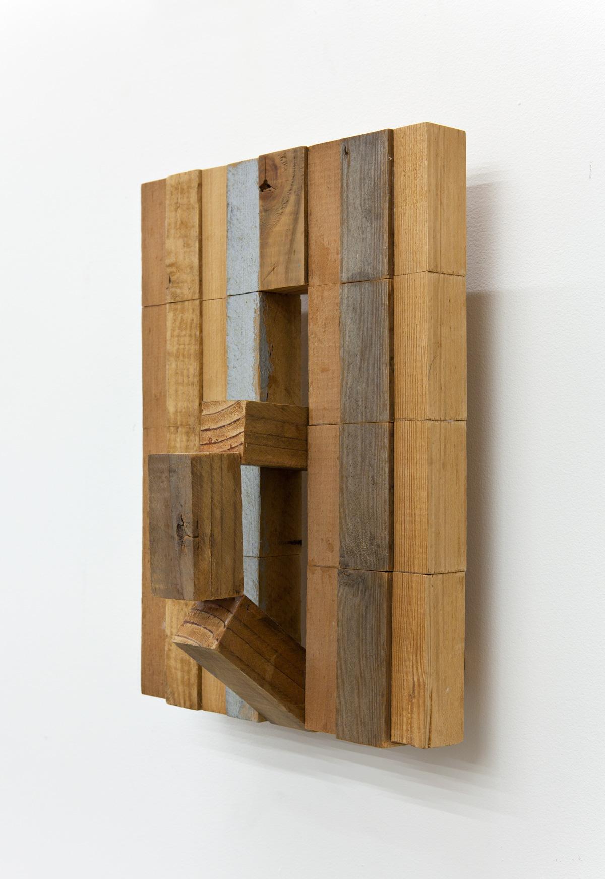 Plural Existences , 2007 複因素 ( Fukuinso ) Wood, acrylic 16 1/2 x 11 3/8 x 7 1/16 inches 42 x 29 x 18 cm