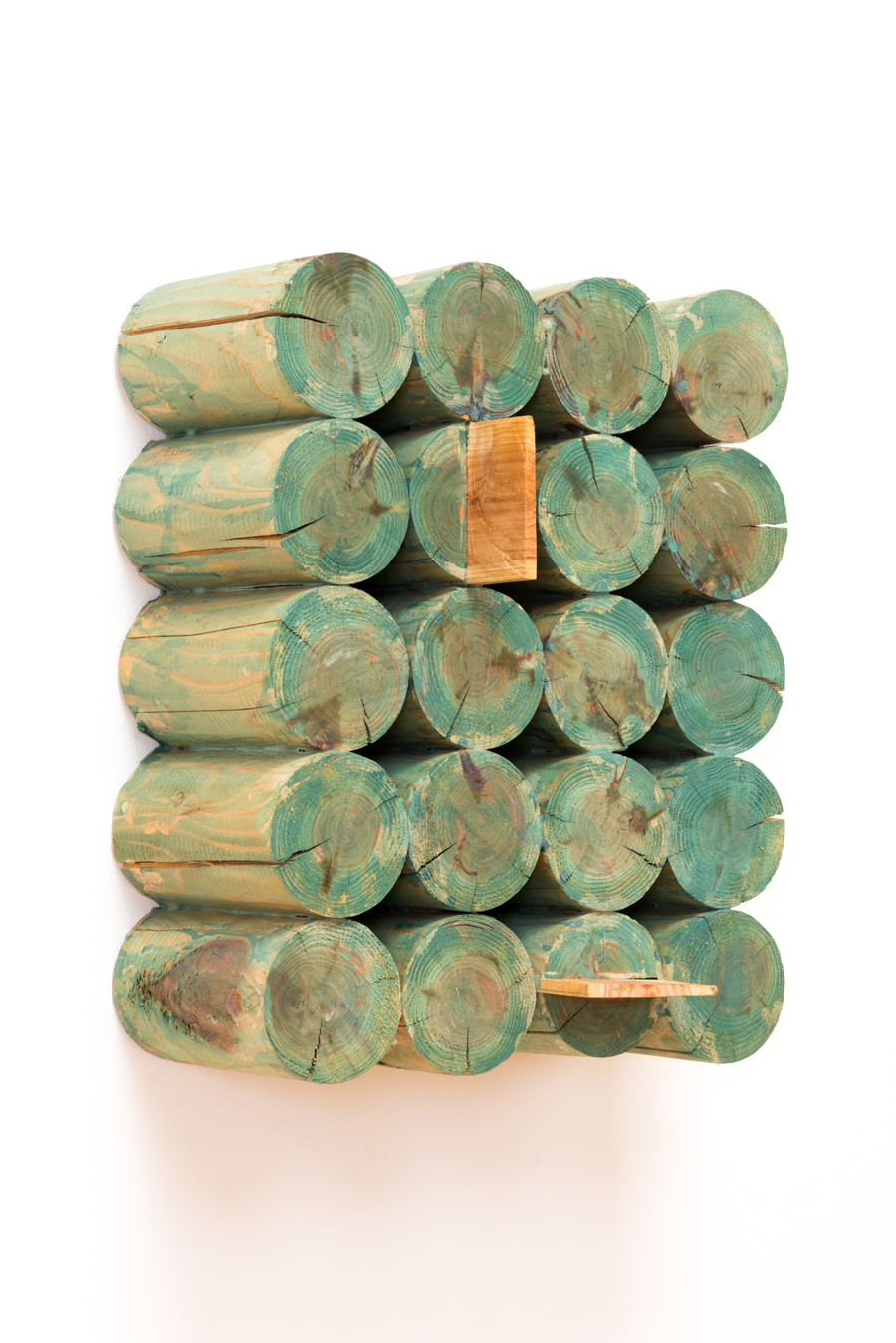 Scatterization , 2007 散分化 ( Sanbunka ) Wood, acrylic 15 15/16 x 12 3/4 x 7 7/8 inches 40.5 x 32.5 x 20 cm