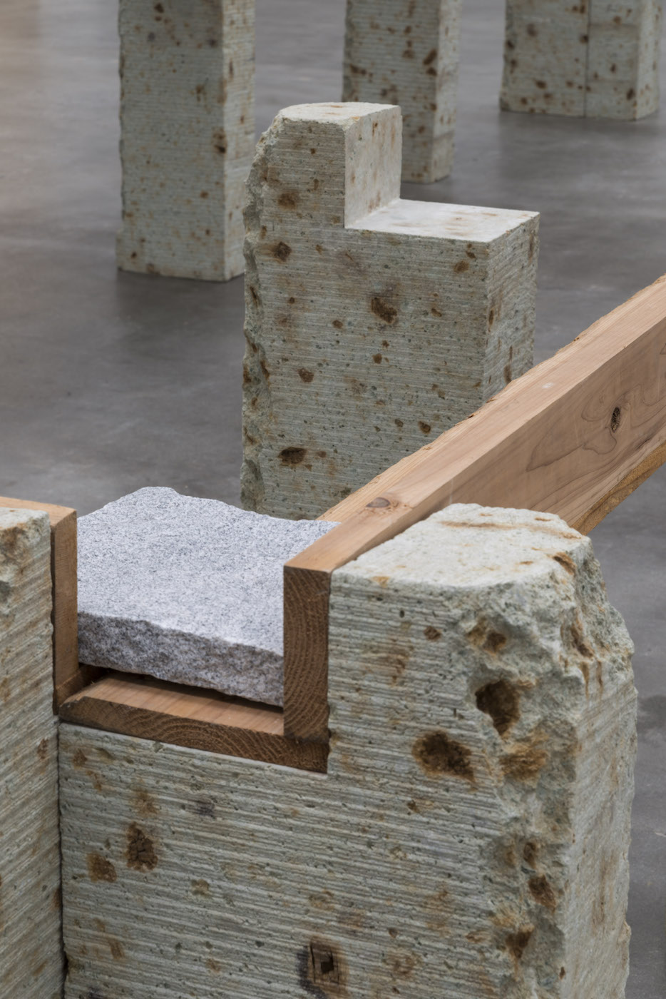 Supported Surrounding , 1987 [detail]