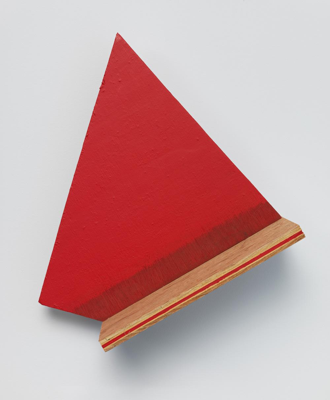 Halted Circulation , 2011 止周 ( Shishū ) Wood, paint 14 3/16 x 12 13/16 x 5 5/8 inches 36 x 32.5 x 14.3 cm