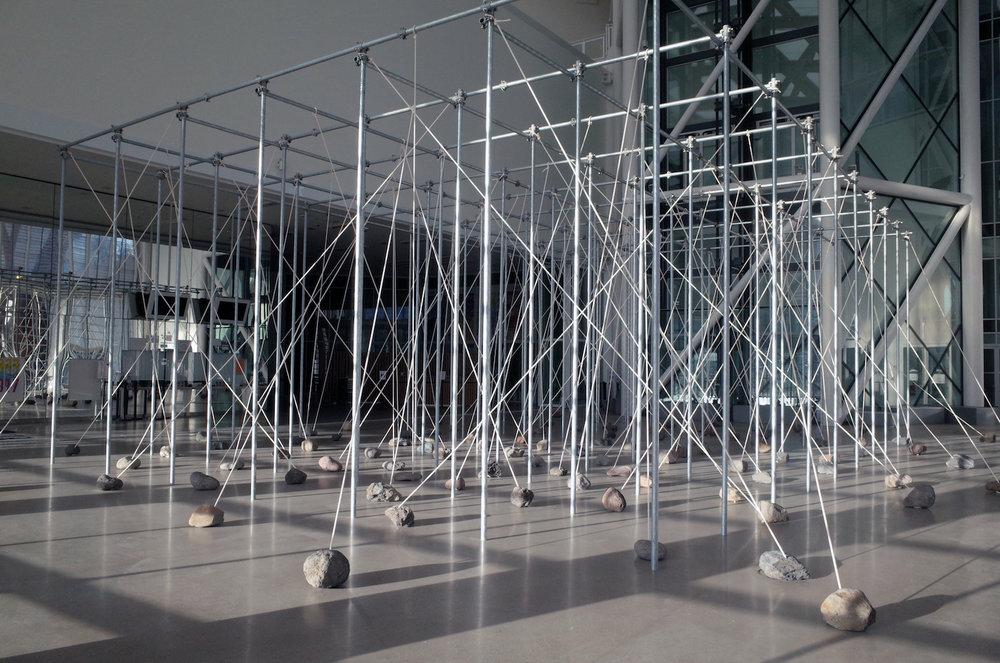 Law of Peripheral Units , 1997/2017. Installation view at Centre Pompidou – Metz, France, 2017. Photo: Tsuyoshi Satoh.