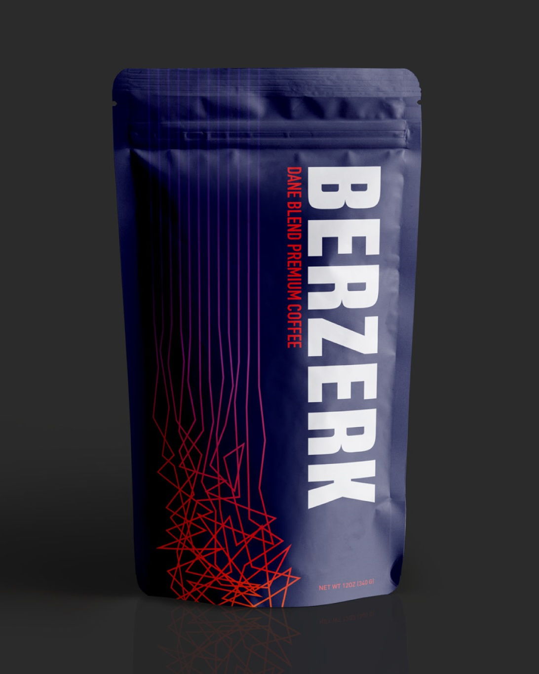 Berzerk Coffee  Brand Development, Packaging