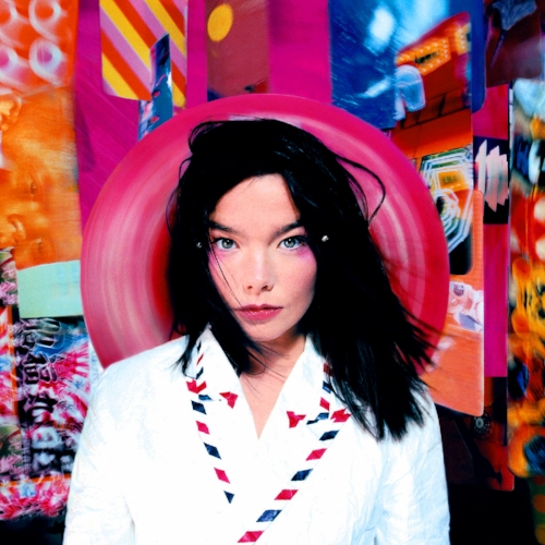 The album cover for Björk's sophomore effort,  Post