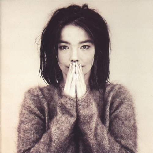 The cover to Björk's 1993 introduction,  Debut