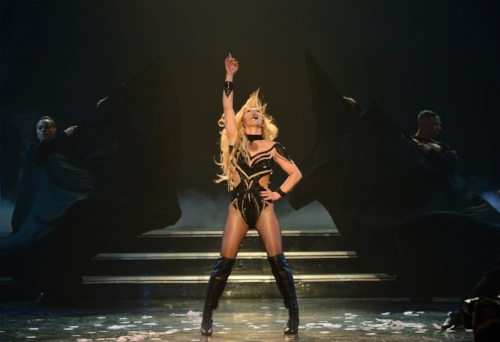Britney Spears playing at Planet Hollywood Las Vegas. (Denise Truscello).jpg