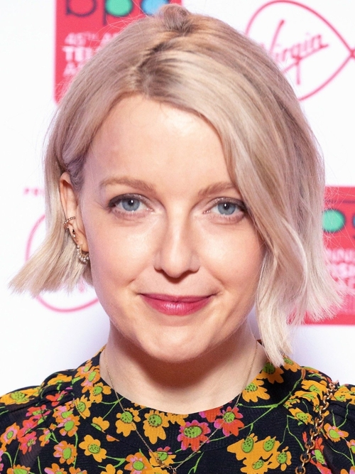 a20deb19 IN THIS PHOTO: Lauren Laverne attending the forty-fifth annual Television  and Radio Awards hosted by the Broadcasting Press Guild (she deservedly won  the ...