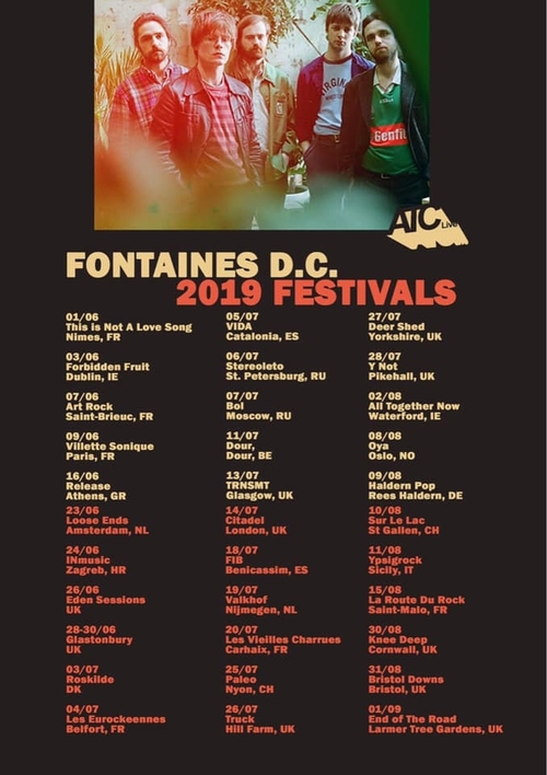 TRACK REVIEW: Fontaines D C  - Sha Sha Sha — Music Musings