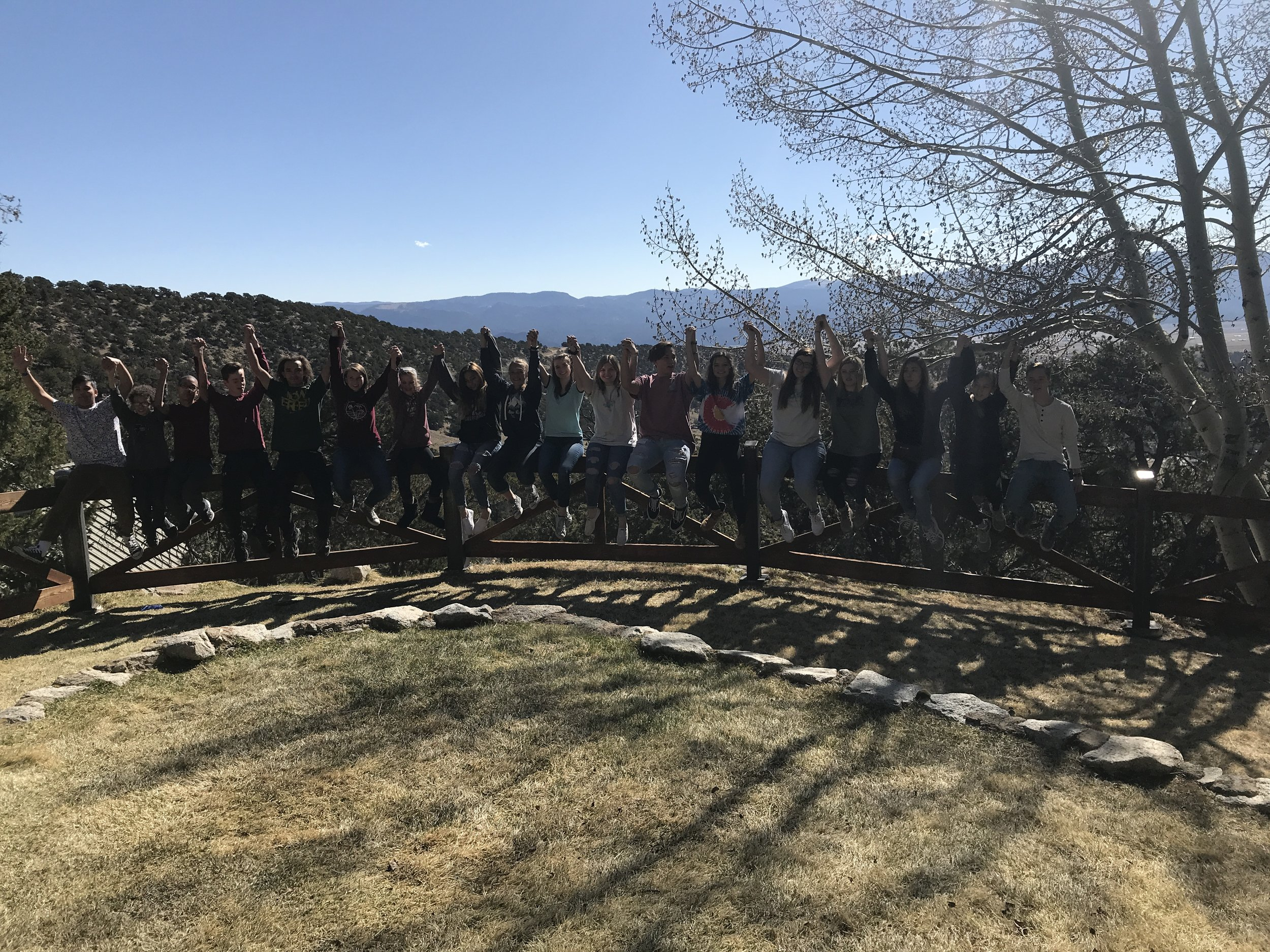 St. Matthew's Youth Group Spring 2018 Quest Retreat