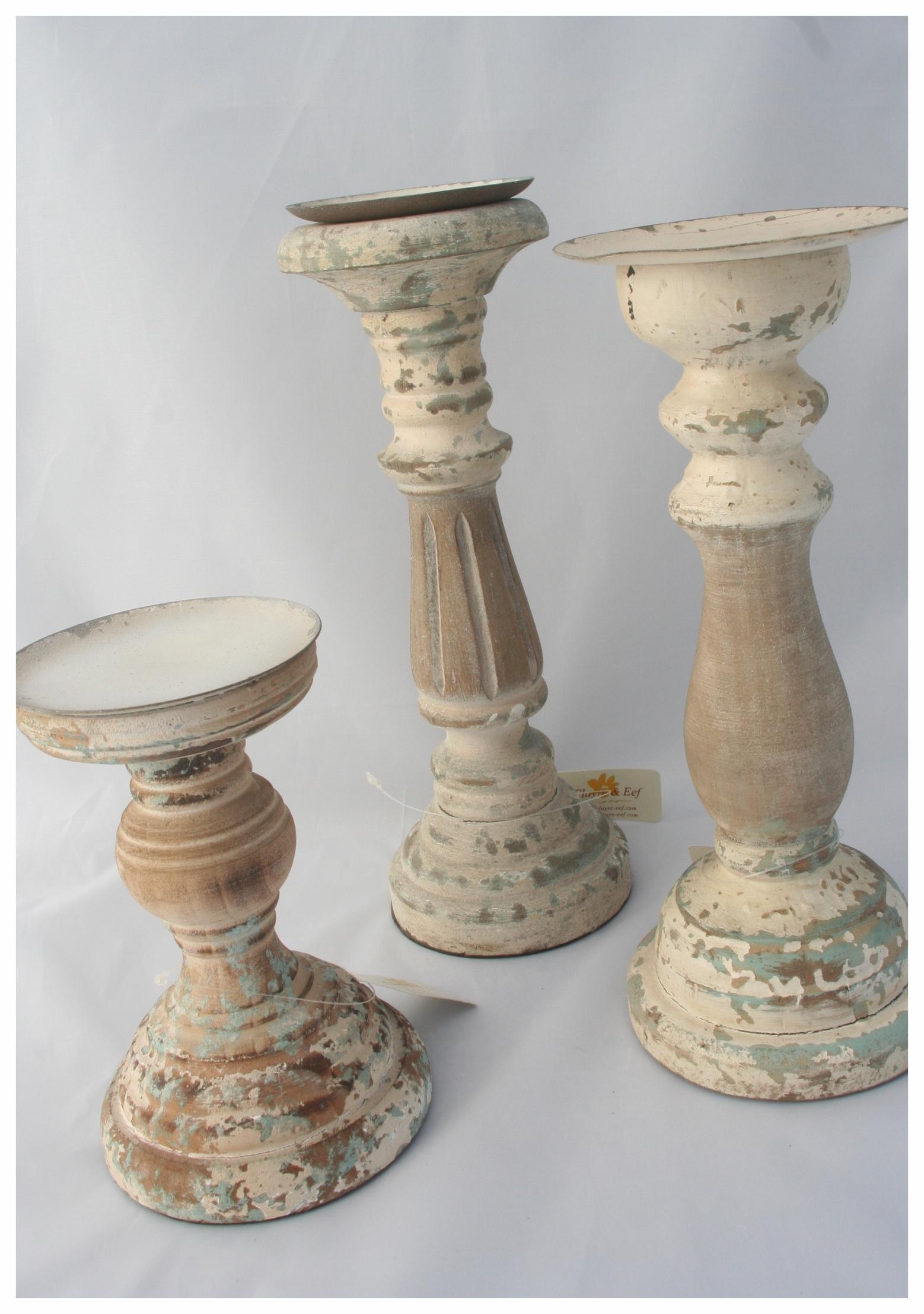 Rustic Seaside Trio Candle Holders.JPG
