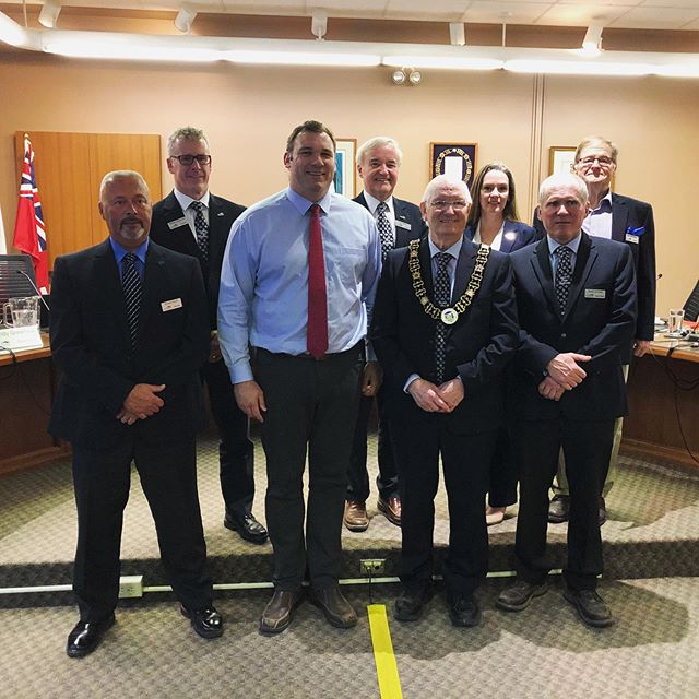 Last night I attended the Township of Oro-Medonte Council meeting to provide an update on the Canada Summer Jobs program. I am pleased to announce that this year, the Township received $81,410.00 from the Ministry of Employment and Social Development, representing 20 summer student positions! #bsom