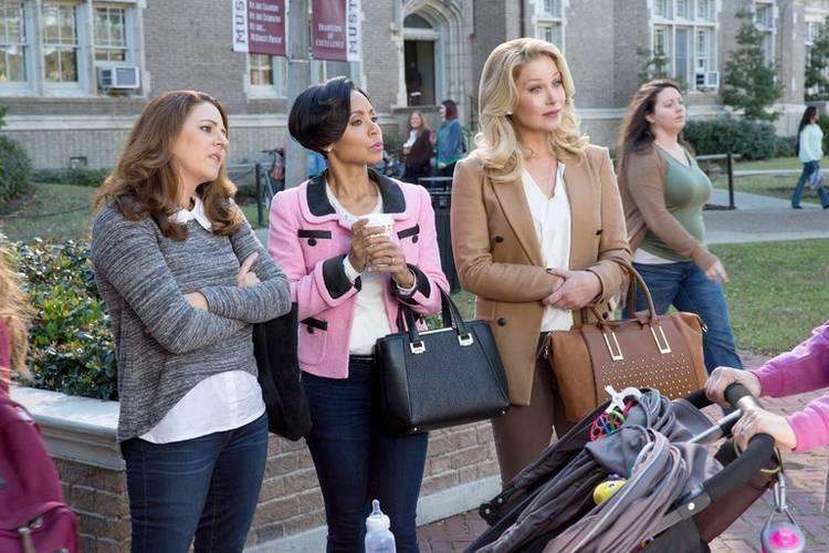 """From """"Bad Moms"""": the stereotypical uptight PTA moms"""