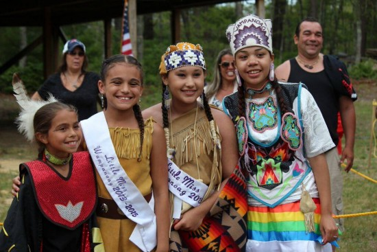 Wampanoag children celebrate cultural traditions at a powwow. (Image credit:  New Bedford Guide