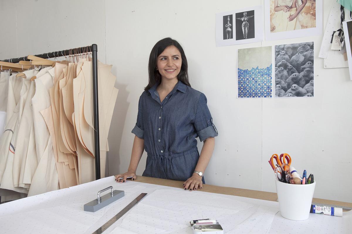 Fitzrovia Journal: Shabam Eslambolchi / Fashion Designer