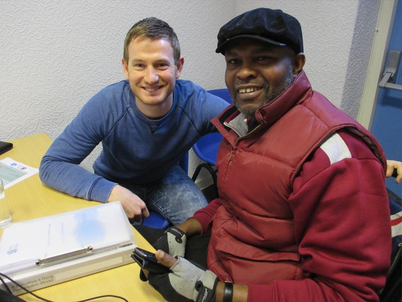 Ayo Falana (Co-Volunteer Founder & Global Ambassador – LSFH/MAPFest.org) and James Sloan (Development Manager Imagine IF Trust)