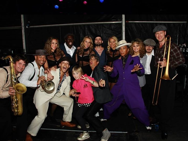 Kid Creole, the Coconut Girls and All the Kid Creole Team @ the LIMF