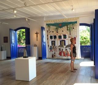 Museu de arte sacra de Parati, RJ.