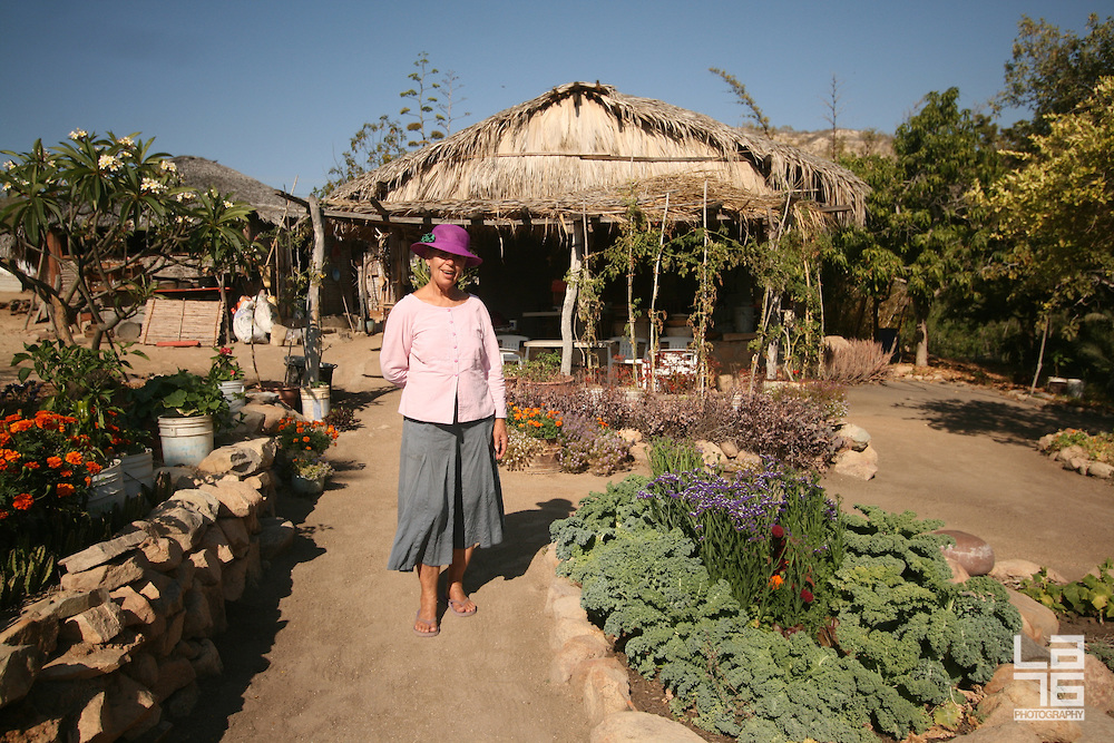 Lorna, at her house in La Candelaria. Photography  LA76