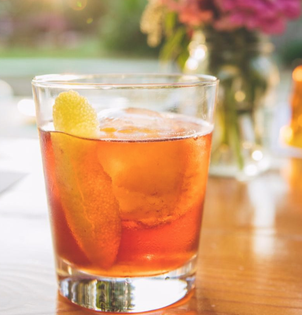 Rosita! Made with Tequila or Mezcal, Campari, Aperol & Vermouth - Summer Special Cocktails at the Farm Bar