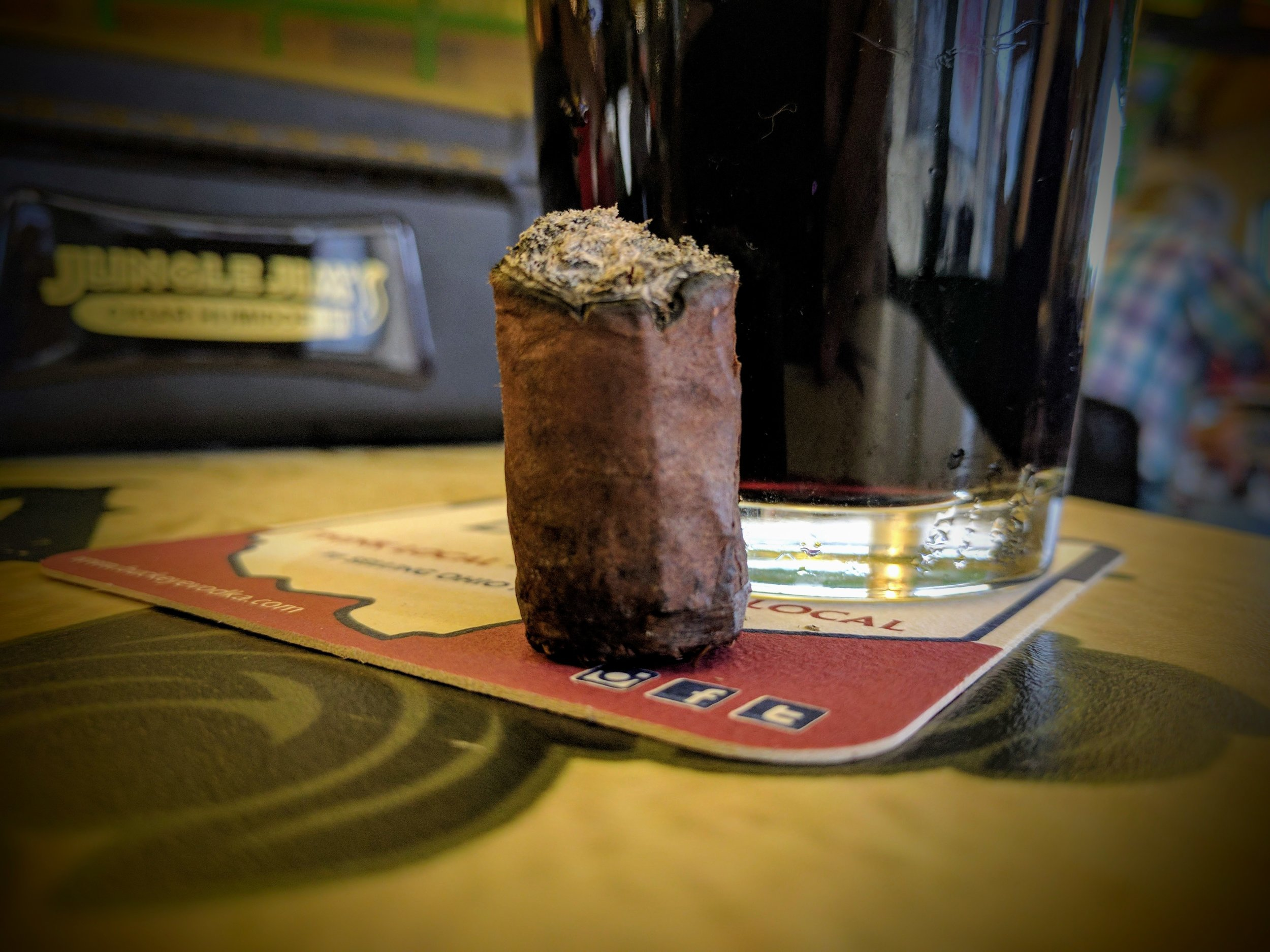 7.2 / 10 - MISSING THE porter ?  - Chocolate Porter may be a victim of its name. While the flavors progressed nicely it was hard for me to imagine them as a porter. The progression seemed to peak around the first half of the first third as well - which made the remainder of the cigar kind of one note where you're trying to detect the subtle nuances of flavors. Both the sweet and savory flavors were good and unique but overall not as impressive and some of Ezra Zion's other cigars.To me, this is a great daily smoke - but the rarity and price are a HINDRANCE to that notion.